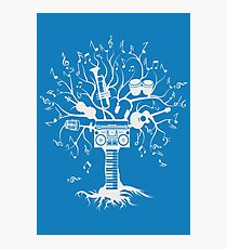 Melody Tree - Light Silhouette Photographic Print