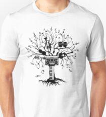 Melody Tree - Dark Silhouette Unisex T-Shirt