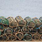 Lobster Pots by Lorren Francis
