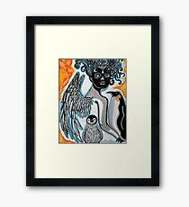 The Penguin Guardian Framed Print