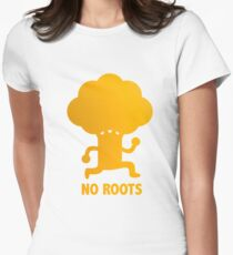 NO ROOTS Women's Fitted T-Shirt