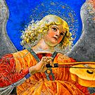 Musical Angel Basking in the Light of Heaven 2 by Nigel Fletcher-Jones