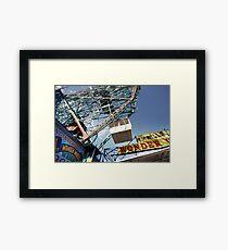 Ferris Wheel at Coney Island Framed Print