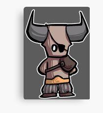 Bull chibi Canvas Print