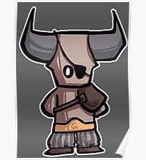 Bull chibi Poster