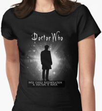 Into every regeneration a Doctor is born Women's Fitted T-Shirt