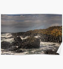 Giants Causeway a World Heritage Site Poster