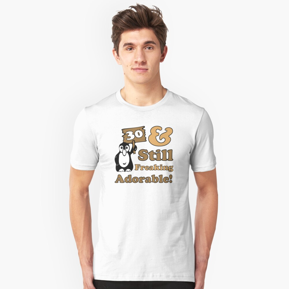 """""""Cute 30th Birthday Gift For Women"""" T-shirt By"""