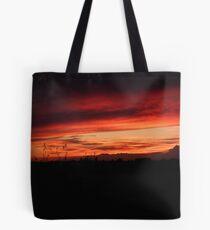 Festival Sunset Tote Bag