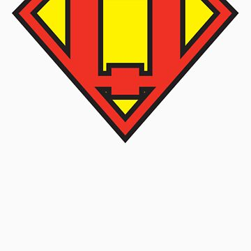Super Initials Tee - Q by NerdUniversitee