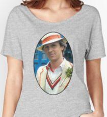 Peter Davison (5th Doctor) Women's Relaxed Fit T-Shirt