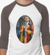 Colin Baker (6th Doctor) Men's Baseball ¾ T-Shirt