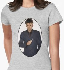 David Tennant (10th Doctor) Women's Fitted T-Shirt
