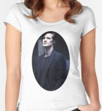 Matt Smith (11th Doctor) Women's Fitted Scoop T-Shirt