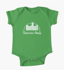 Downton Abbey / Disney //all white artwork// One Piece - Short Sleeve
