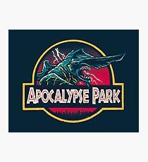 Apocalypse Park Photographic Print