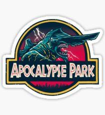 Pegatina Apocalypse Park