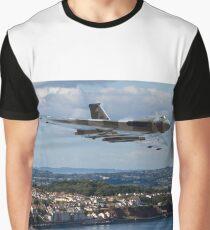 Vulcan XH558 over Dawlish Air Show Graphic T-Shirt