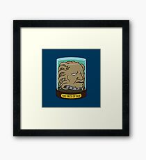 The Face of Boe Framed Print