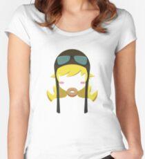 Shinobu Women's Fitted Scoop T-Shirt