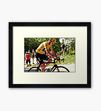 Chris Froome Framed Print
