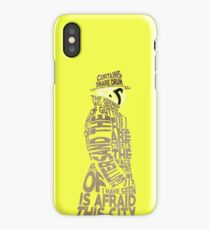 Watchmen - Rorschach Typography iPhone Case/Skin