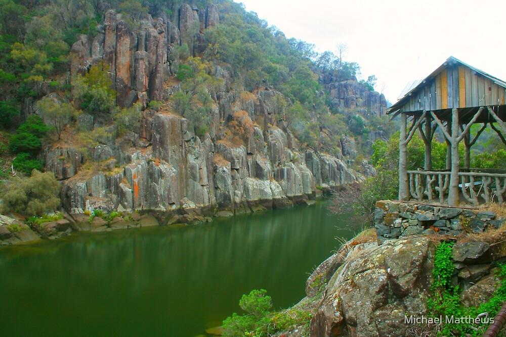 Resting spot on Cataract Gorge by Michael Matthews