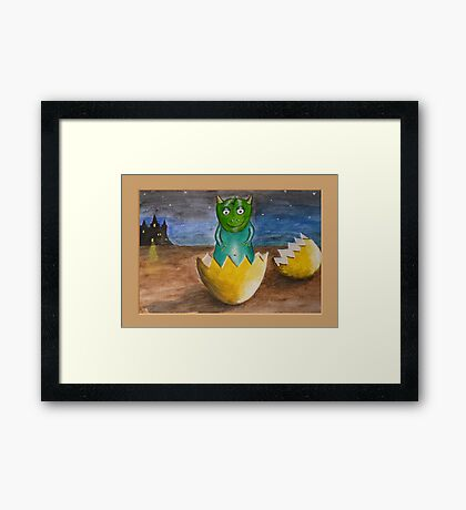 What will my future be? Framed Print