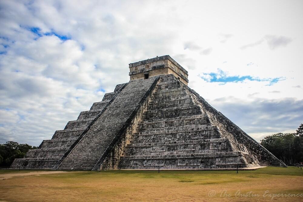 El Castillo - The Pyramid of Chichen Itza by Dave Austin