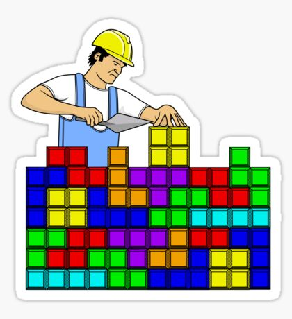Brick Layer Sticker