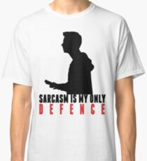 Stiles Stilinski - Sarcasm is my only defence Classic T-Shirt
