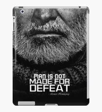 Tough Hemingway's Beard iPad Case/Skin