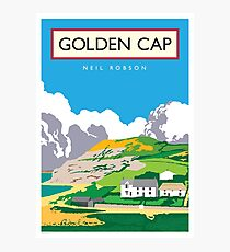 Golden Cap, Dorset Photographic Print