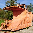 Old Train Snow Plow by MaluC