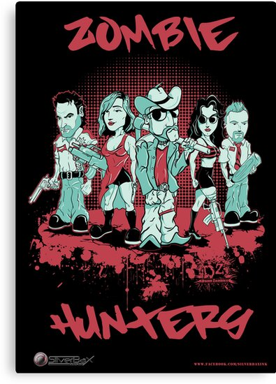 Zombie Hunters by SilverBaX