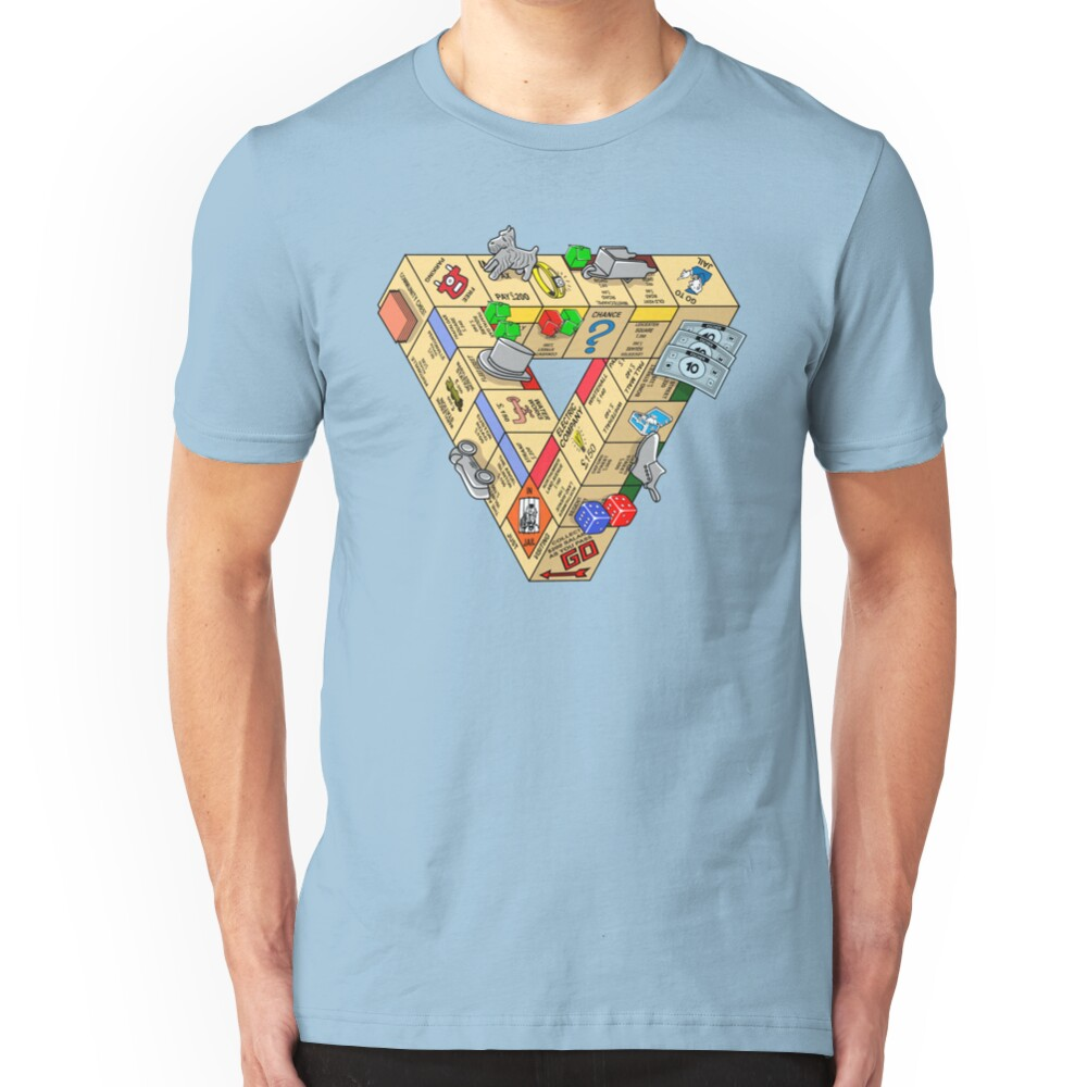 The Impossible Board Game Slim Fit T-Shirt