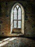 Old Soar Manor Chapel Window by Ludwig Wagner