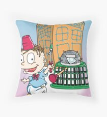 Tommy Who Throw Pillow