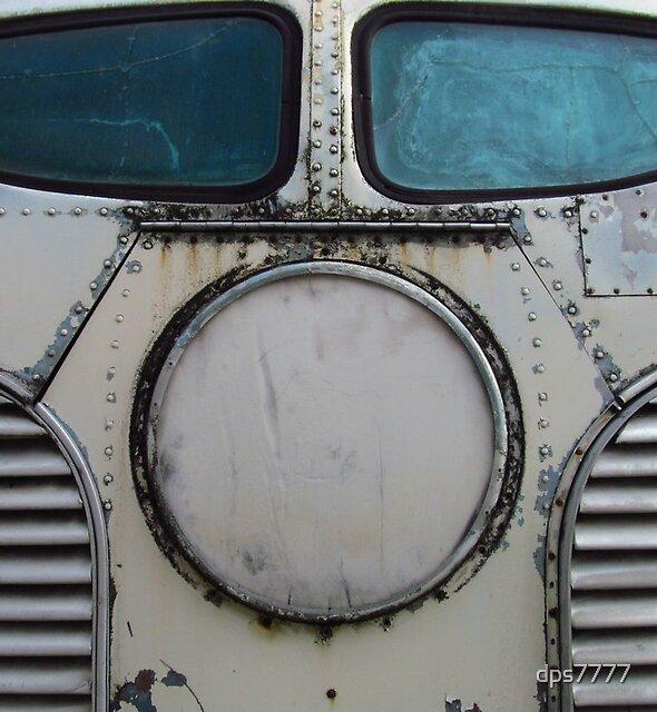 Greyhound Bus by David Schroeder