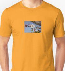 Bark, Apricot Blossom and Blue Sky T-Shirt