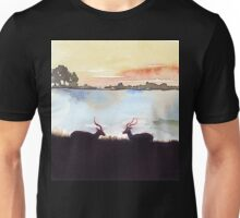 Impala in an African landscape Unisex T-Shirt