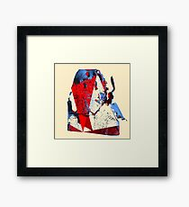86 Framed Print