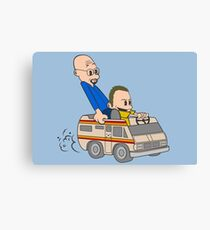 Jesse & Mr White Canvas Print