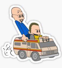 Jesse & Mr White Sticker