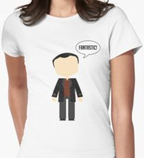 Ninth Doctor Women's Fitted T-Shirt