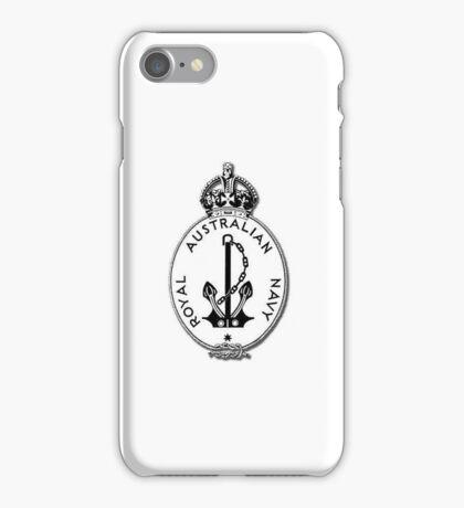 Royal Australian Navy, Logo #1 iPhone Case/Skin