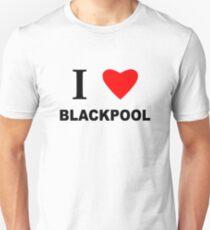 I Love Blackpool Unisex T-Shirt