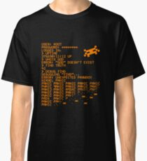 Kernel Panic! - orange Classic T-Shirt