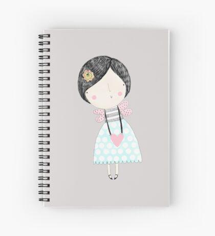 Fairy love heart Spiral Notebook