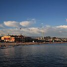 Summer Evenings in Santa Cruz by Laurie Search